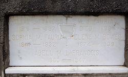 Sophia Mathilda <I>LaFrancois</I> Fauria