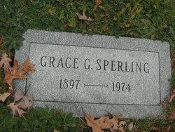 Grace G Sperling