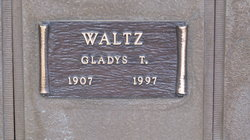 Gladys T Waltz