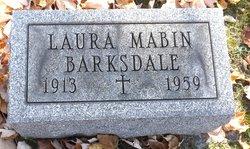 Laura <I>Mabin</I> Barksdale