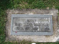Mary Susan <I>Rhodes</I> Dellinger