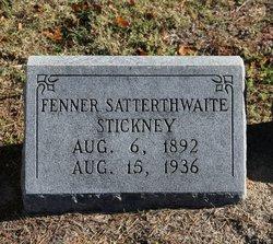 Fenner Satterthwaite Stickney