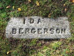 Ida <I>Matson</I> Bergerson