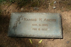 Harold H Adkins