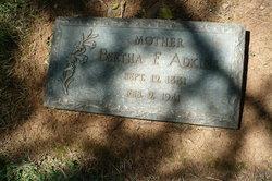 Bertha Francis <I>Miller</I> Adkins