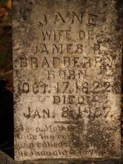 """Nancy Jane """"Janie"""" <I>McGee</I> Bradberry"""