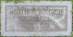 Mozelle <I>Huddle</I> Woodruff