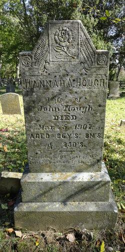 Hannah A. <I>Schooley</I> Hough