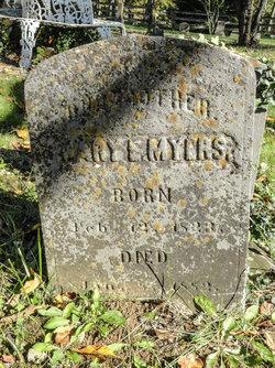 Mary E <I>Titus</I> Myers