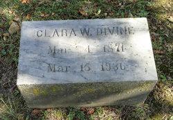 Clara W Divine