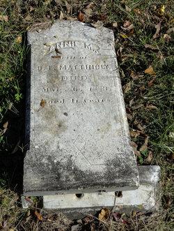 Annie M <I>Hough</I> Mattingly