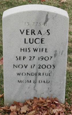 Mrs Vera Stacie <I>Jussel</I> Luce