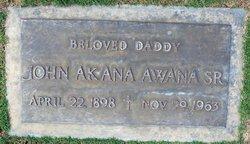 John Akana Awana, Sr