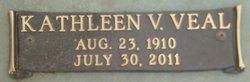 Kathleen <I>Veal</I> Veal