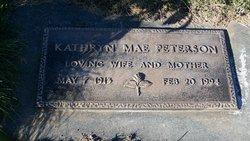 Katheryn Mae <I>Sundbloom</I> Peterson