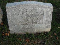Henrietta Alois <I>White</I> Beaver