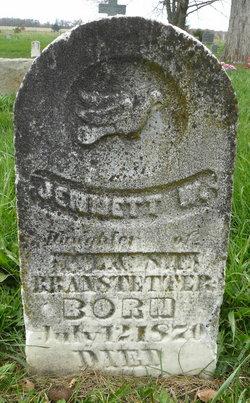 Jennett Waler Branstetter
