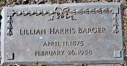 Lillian <I>Harris</I> Barger