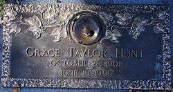 Grace <I>Taylor</I> Hunt