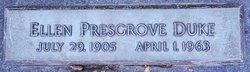 Ellen <I>Presgrove</I> Duke