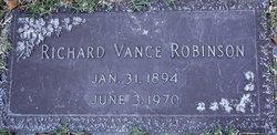 Richard Vance Robinson