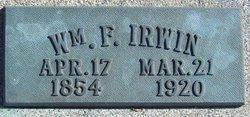 William F Irwin