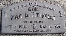 Ruth M <I>Dunker</I> Effenbeck