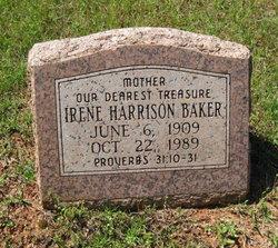 Irene <I>Harrison</I> Baker