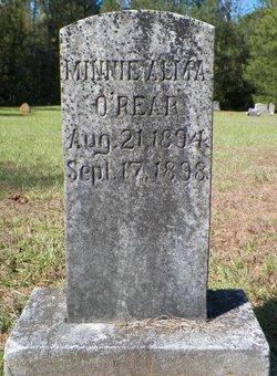 Minnie Alma O'Rear