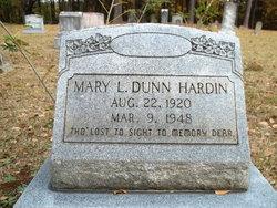 Mary L. <I>Dunn</I> Hardin