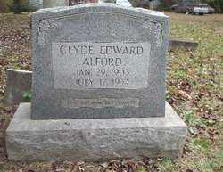 Clyde Edward Alford