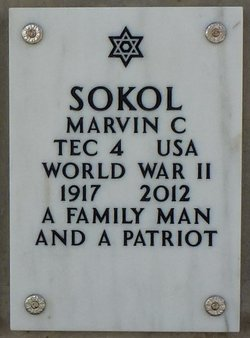 Marvin Clarence Sokol