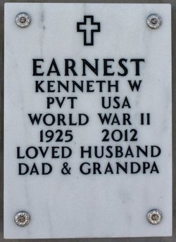 Kenneth W Earnest