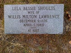 Lela Bessie <I>Shoults</I> Lawrence