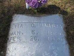Etta C. Bartley