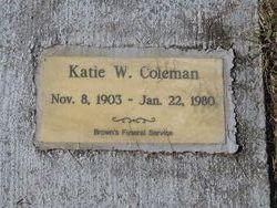 Katie W. Coleman