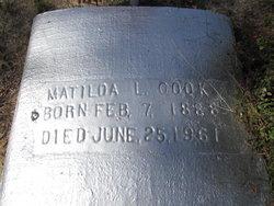 Matilda L. <I>Jackson</I> Cook