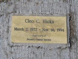 Cleo C. Hicks