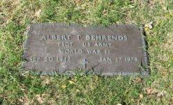 "Albert Teagarden ""Buddy"" Behrends"