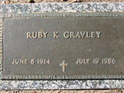 Ruby Kathryn <I>Wier</I> Gravley
