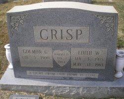Edith W Crisp