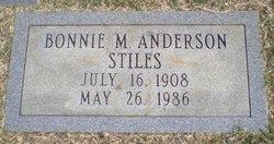 Bonnie M <I>Stiles</I> Anderson