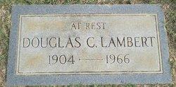 Douglas C Lambert