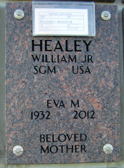 Sgt Maj William F Healey, Jr