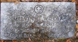 Melvin O Wilder