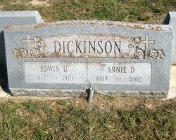 Annie Della <I>Pawvlik</I> Dickinson