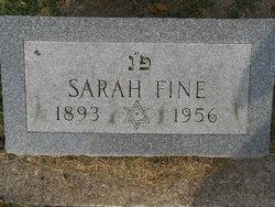 Sarah Fine