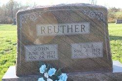 "Louise K ""Lula"" <I>Moore</I> Reuther"