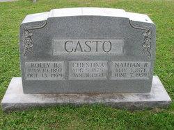 Chestina <I>Boggess</I> Casto