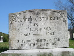 Jeanette M <I>Stogdon</I> Johnson